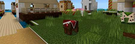 HD Christmas Texture Pack для Minecraft PE