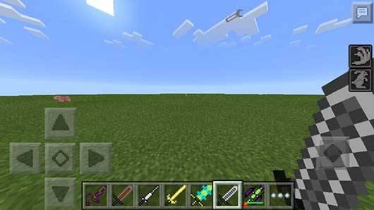 Мод Sword++ - Новые мечи в Minecraft PE
