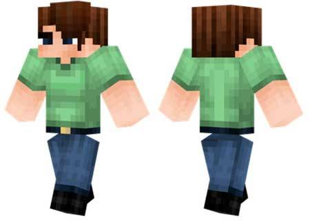 Скин Green Shirt для Minecraft PE