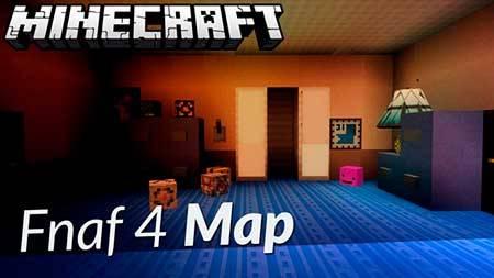Прятки на карте 5 ночей с Фрэдди для Minecraft PE