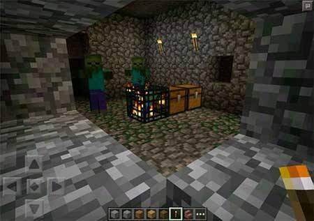 Dungeon сид для Minecraft PE