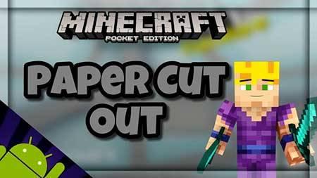 Paper Cut Out [16×16] текстуры для Minecraft PE