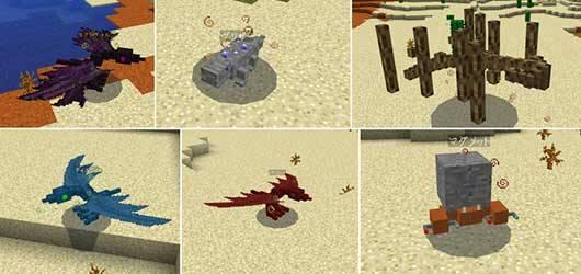Мод Creature Hunter - Новые мобы в Minecraft PE