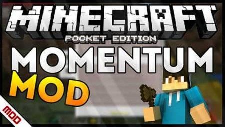 Мод Momentum - Панель управления игрой Minecraft PE
