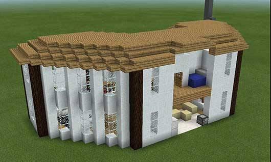 Мод INSTANT HOUSE v8.2 для Minecraft PE 0.15.6