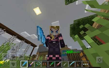 More Swords — Больше мечей в Minecraft PE