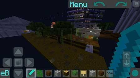Мод easyBuilding — Редактор карт в Minecraft PE