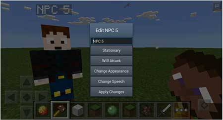 Мод Ultimate NPC - Помощники в Майнкрафт ПЕ