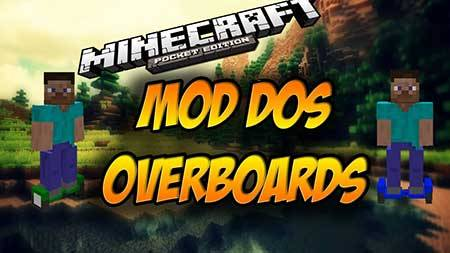 Мод Overboards - Ховерборд для Майнкрафт ПЕ