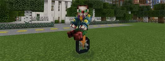 Mech Mod - Транспорт в Minecraft PE