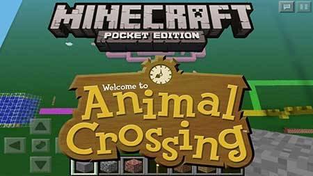 Шейдеры Animal Crossing для Minecraft PE