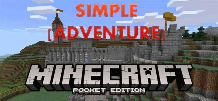 Карта Simple Adventure для Minecraft PE