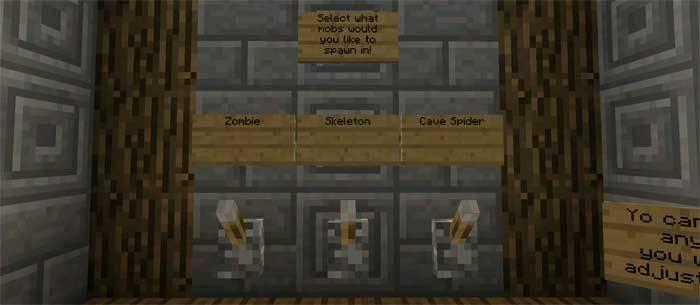 Карта арена Jungle Relics для Minecraft PE