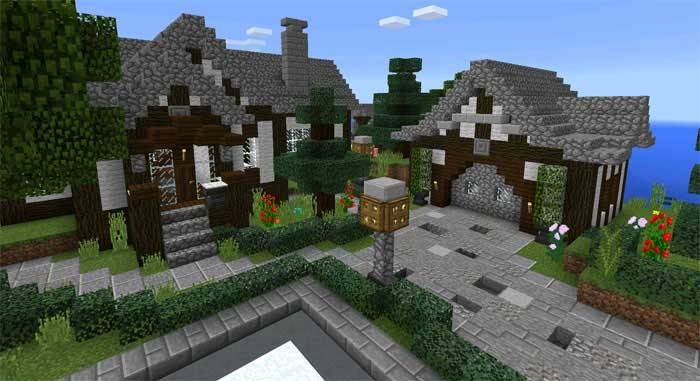 Карта DeepOceanCity для Minecraft PE