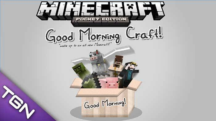Текстуры Good Morning Craft для Minecraft PE