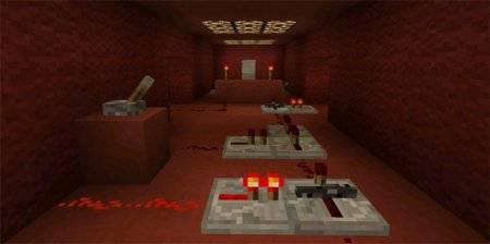 Карта головоломка Последняя Комната для Майнкрафт ПЕ 0.15.0+
