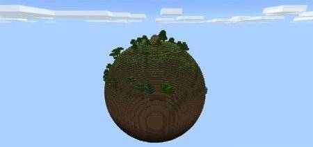 Карта Планета Земля [Выживание] - Planet Earth [survival] MCPE