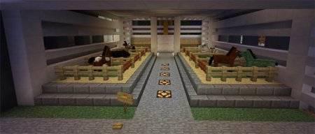 Карта Супер особняк [Super Mansion] Redstone для MCPE