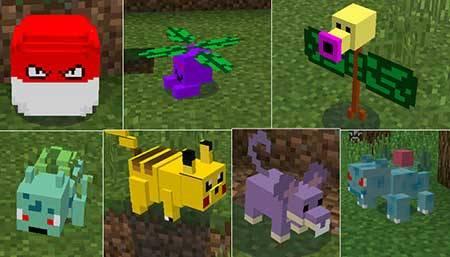 Pixelmon PE - Покемоны в Minecraft PE