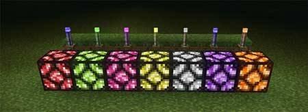 Мод MCPE+ — 100 новых блоков в Minecraft PE