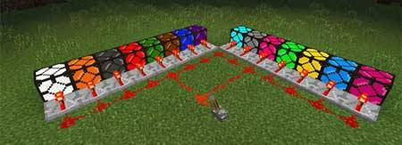 Super Colored Lightning 2000 Mod для Minecraft PE
