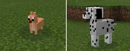 Doggy Mod - Собаки в Minecraft PE