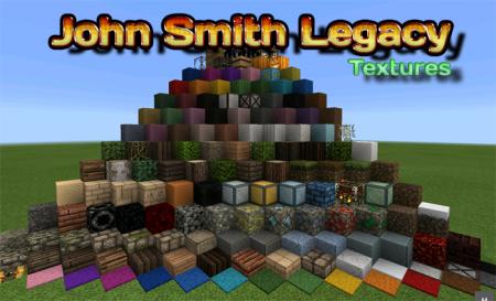 Текстурпак John Smith Legacy [32x32] Minecraft PE