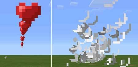 Мод Arrow Trails для Minecraft PE