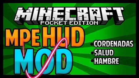 Мод MPEHUD для Minecraft PE