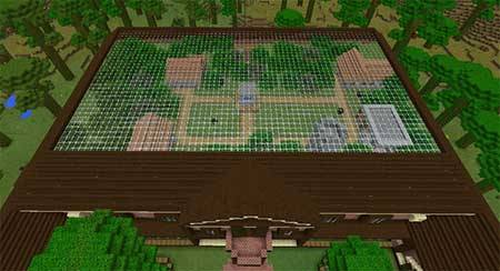 Карта Rugged Jungle Mansion для Minecraft PE