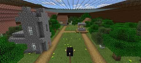 Карта Rugged Jungle Mansion для Minecraft PE