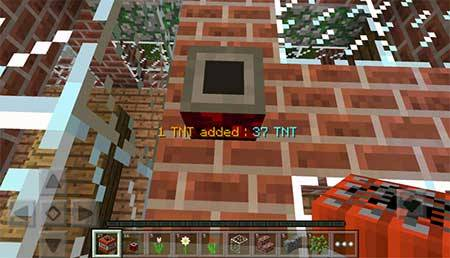 Мод TNT Multiplier для Minecraft PE