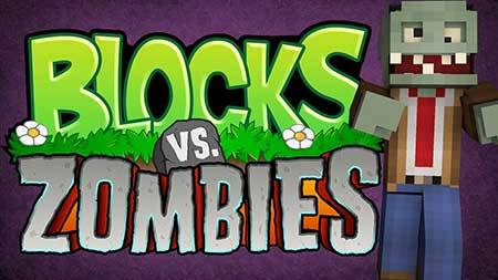 Карта Blocks VS Zombies для Minecraft PE
