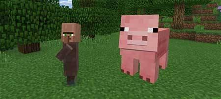 Mega Mobs - огромные мобы в Minecraft PE