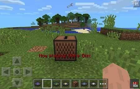 Мод Jukebox - Музыкальный проигрыватель в Minecraft PE