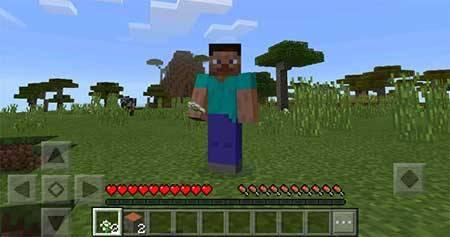 Мод PC Gui для Minecraft PE