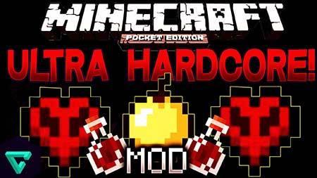 Мод Ultra Hardcore PE - Хардкор в Майнкрафт ПЕ