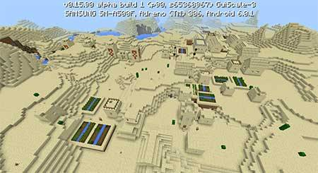 Деревня и 2 храма для Minecraft PE 0.16.X и 0.15.X