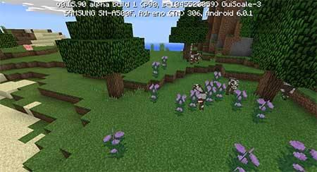 Сид на остров в Minecraft PE