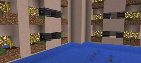 Карта Insane Watermelon Farm для Minecraft PE