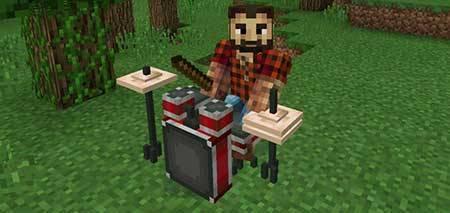 Мод Rock Stars для Minecraft PE