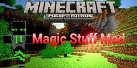 Мод Magical Staff для Minecraft PE