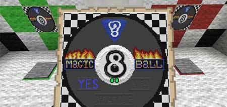 Карта Magic 8-ball для Minecraft PE