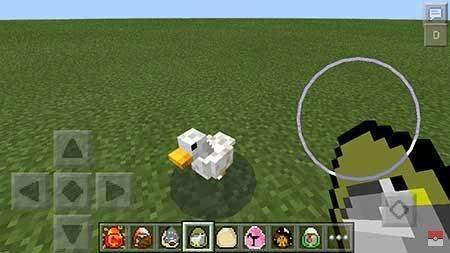 Мод Birds - Птицы в Minecraft PE