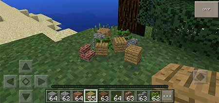 Мод EasyDrops для Minecraft PE