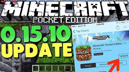 Скачать Minecraft Pocket Edition 0.15.6 на андроид