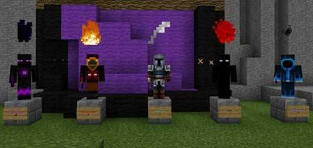 Карта Knocker Heroes для Minecraft PE