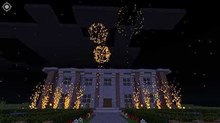 Мод Fireworks - Фейерверки в Minecraft PE
