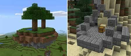 Ruins Mod для Minecraft PE