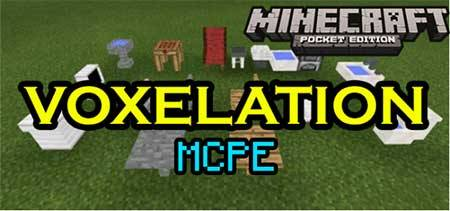 Мод Voxelation - Сантехника в Minecraft PE